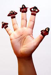 длина пальцев и размер полового члена взаимосвязаны