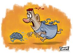 У полных людей идет дегенерация мозга