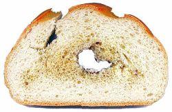 Хлеб, пораженный картофельной болезнью
