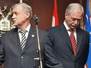 Сергей Миронов и Борис Грызлов
