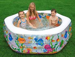 Как выбрать детский надувной бассейн? Основные ошибки