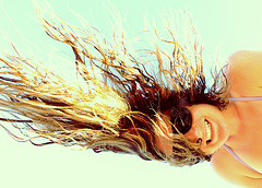 Солнце - волосам вред