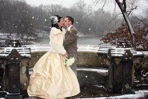 Что плохого в свадьбе зимой