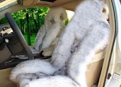 Как выбрать меховые чехлы на сиденья автомобиля? Основные ошибки