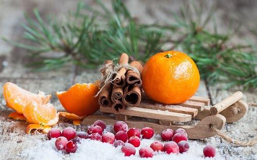 апельсин и корица