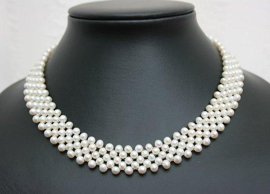 жемчужное ожерелье коллар