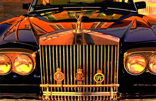 дорогая старая машина