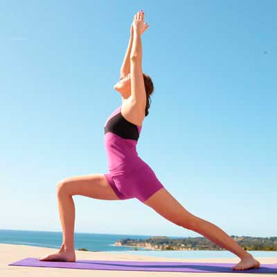 Поза йоги - Первая асана Воина