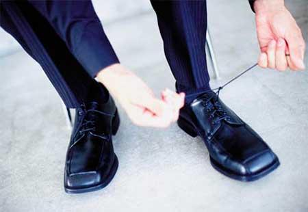 мужские ботинки с квадратными носами