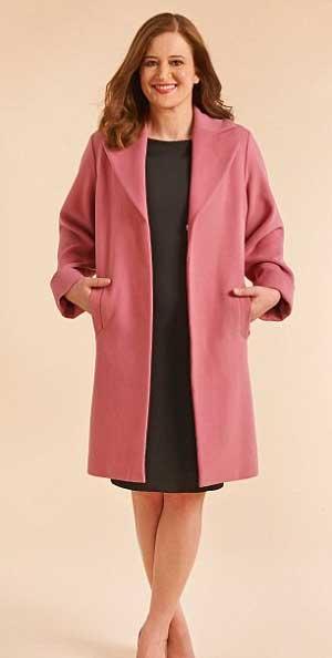 женское пальто шинель
