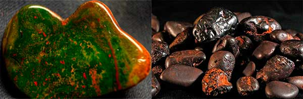 гематит разной окраски