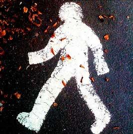 идущий человечек