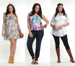 Тонкости выбора одежды для полных женщин