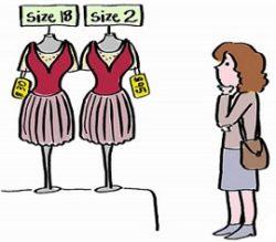 Сложное соответствие размеров одежды разных производителей как причина невезения покупателей Интернет-магазинов