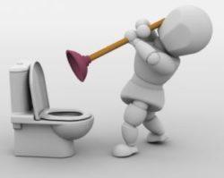 Как прочистить трубу от засора?