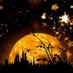 блеск луны