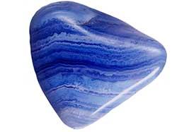 Голубой кружевной агат