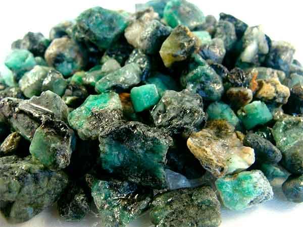 мелкие камушки