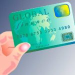 рука с банковской картой