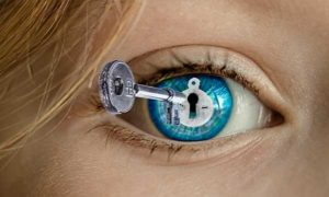 глаз с ключиком