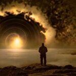 человек и восход