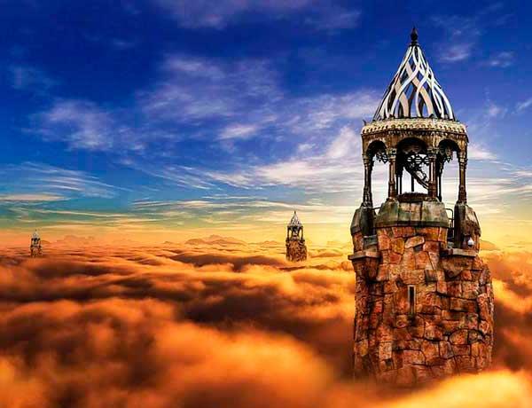 сказочные башни
