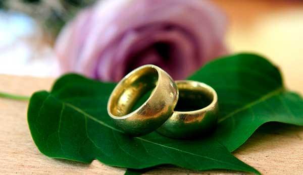 кольца на листике