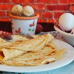 блинчики и яйца