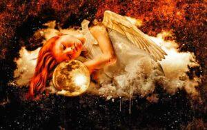 ангел спит