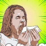 изображение чихающего челоека