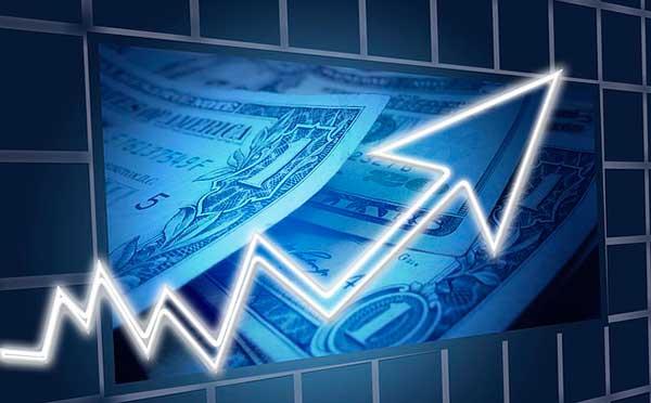график роста доллара