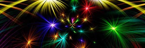 разноцветные звездочки