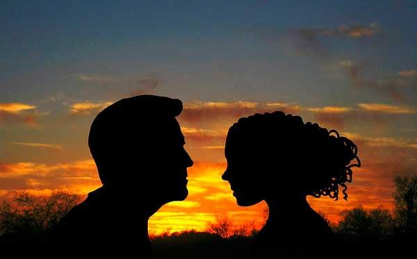 пара - мужчина и женщина