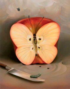 рисунок яблока