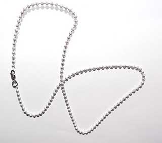 серебряная цепочка