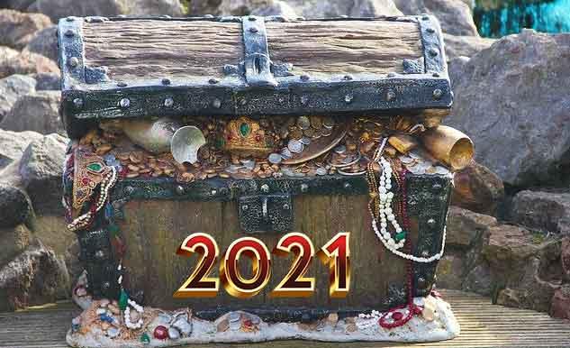 сундук с сокровищами 2021 года