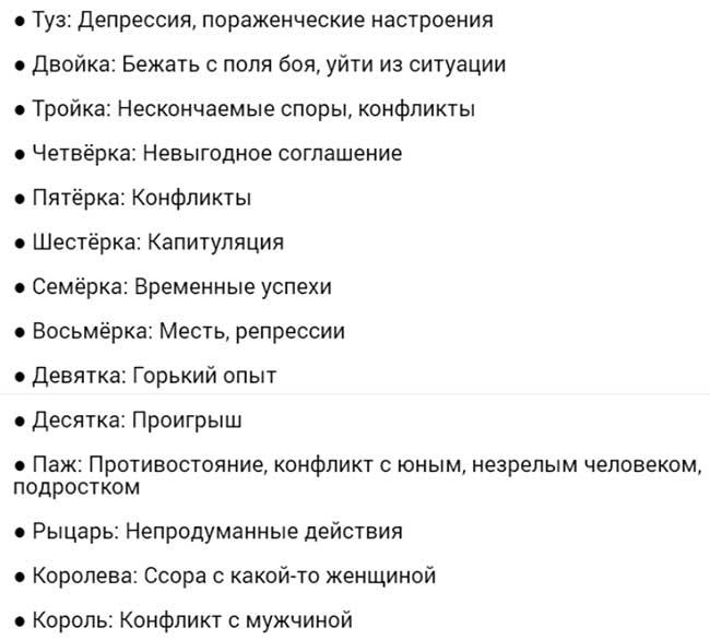 Пятерка Клинков и Жезлы