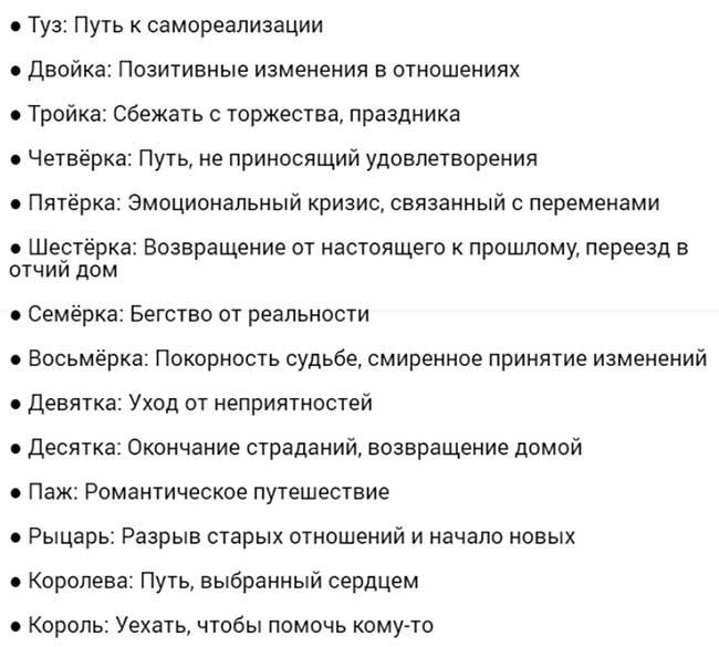 Шестерка Клинков и Кубки