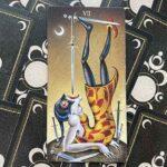 7 Мечей колоды Таро Безумной Луны