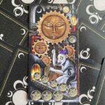 Восьмерка Пентаклей Таро Восходящей Луны