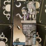 4 Кубков колоды Таро Безумной Луны