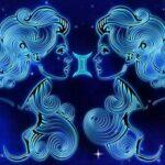 Символическое изображение знака Зодиака Близнецы